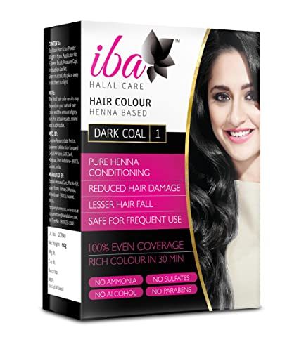 Buy Iba Halal Care Hair Colour Dark Coal 60g Online At Low Prices