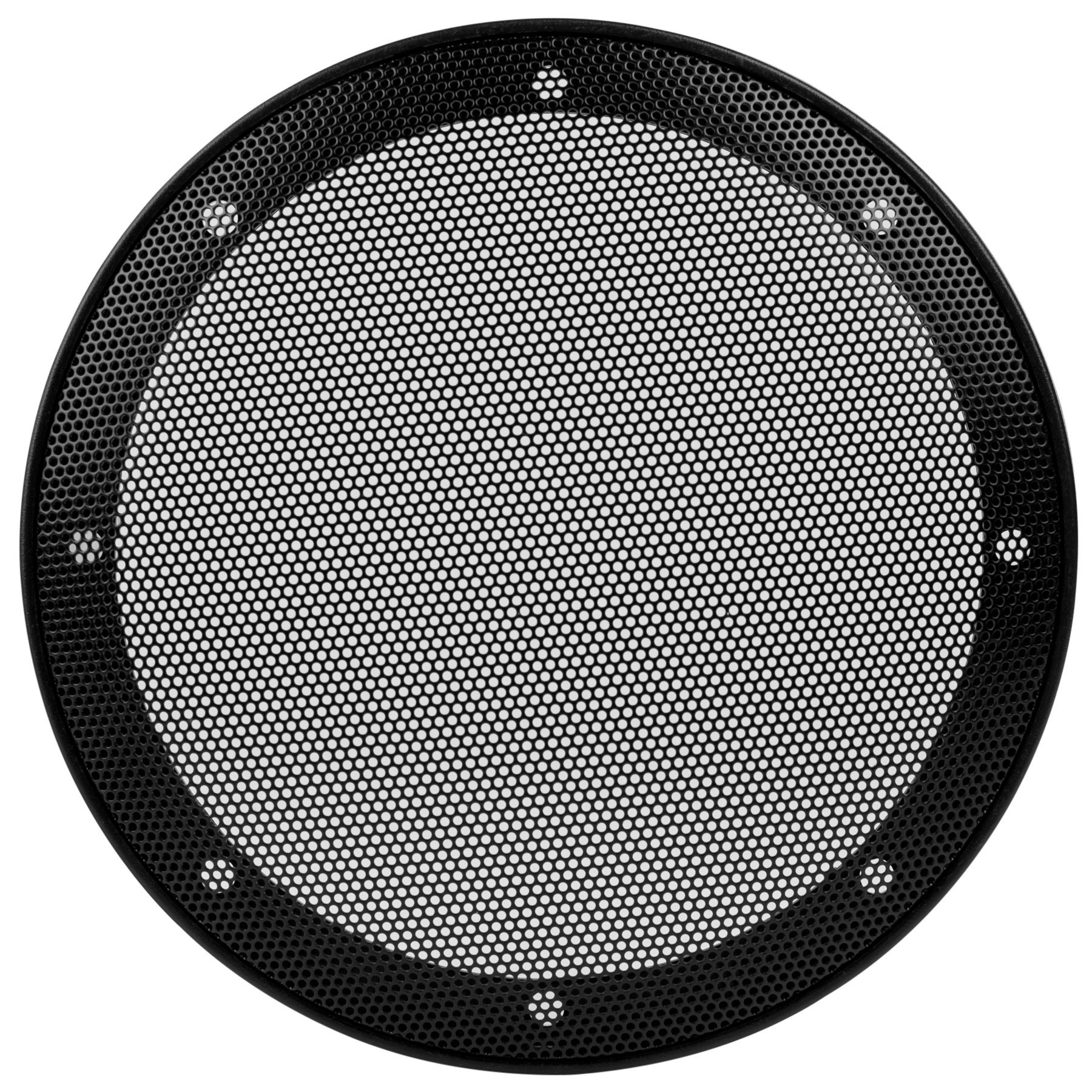 Parts Express 6-1/2'' Car Type Steel Mesh 2-Piece Speaker Grill with Plastic Mounting Ring