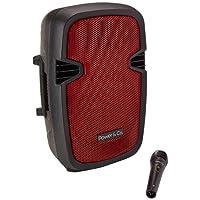 Power XP-8000RD Bocina, 4200 W, color Rojo