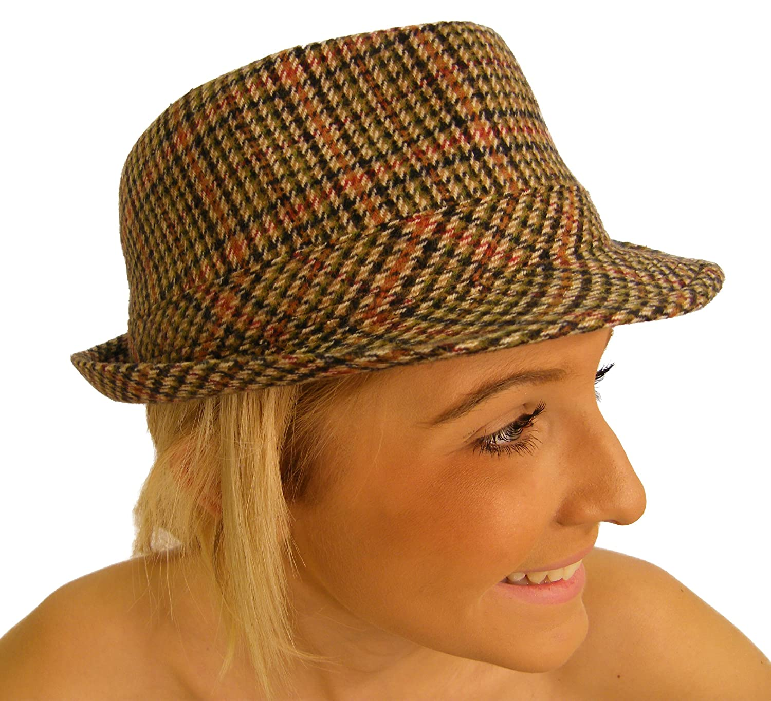 Campbell Cooper New Traditional Classic Tweed Country Trilby Hat