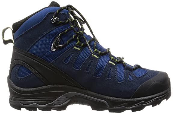 Salomon Quest Prime Gtx® Blau, Herren Gore-Tex® Wanderschuh, Größe EU 44 - Farbe Midnight Blue-Deep Blue-Turf Green Herren Gore-Tex® Wanderschuh, Midnight Blue - Deep Blue - Turf Green, Größe 44 - Blau