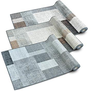 Teppichläufer Lucano | Patchwork Muster im Vintage Look | viele ...