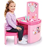 Minnie Mouse 63309 Happy Helpers Pretend N' Play Activity Table Set with One Chair, Pink
