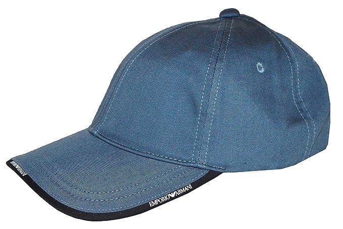 3221095fb1d Image Unavailable. Image not available for. Colour  Emporio Armani Cap -  S627502 - Coastal Blue