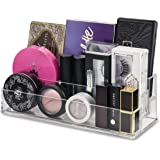 byAlegory Tiered Acrylic Makeup Organizer Fits Small Palettes, Compacts, Lipsticks, Lip Gloss, Eye Shadows, Cosmetics   3 Tiers