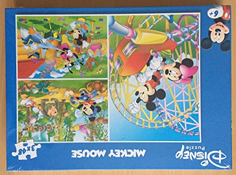 clementoni puzzle disney 3x48