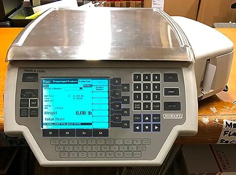 Hobart Quantum 029032-bj escala comercial con impresora para Deli Grocery carne produce