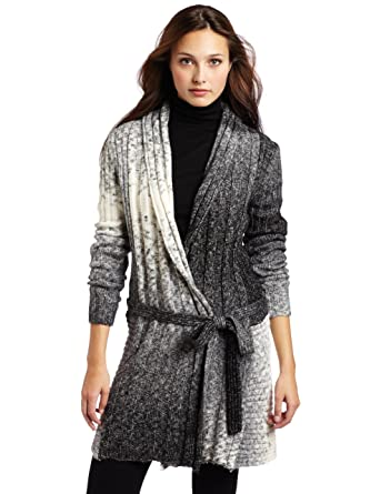 Amazon.com: d.e.p.t. Mad spacedye Knit chaqueta de punto ...