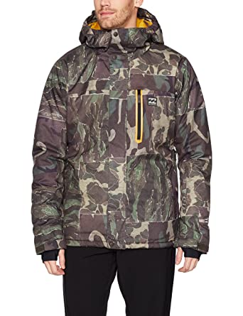 faec2d667304 Amazon.com  Billabong Men s All Day Snowboard Jacket  Clothing