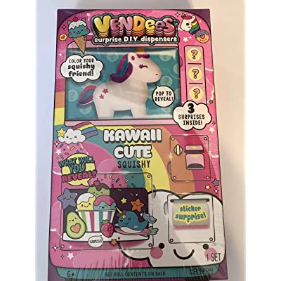 Vendees Surprise DIY Dispensers Kawaii Cute Squishy: Toys & Games