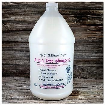 MinkSheen Pet Shampoo 4 in 1
