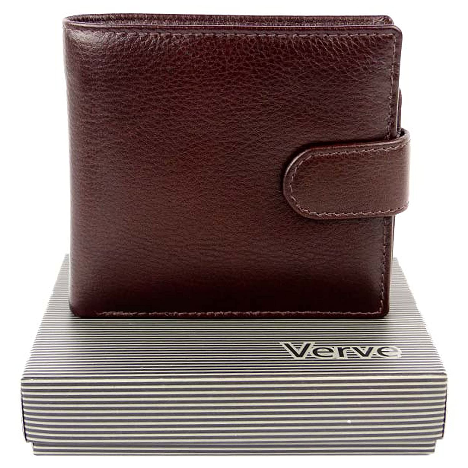 acd5eccd3aa451 Mala Leather Men's Brown Leather Wallet By Verve Gift Boxed Mala 12 Card  Slots Onesize Chestnut Brown at Amazon Men's Clothing store: