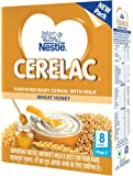 Nestlé CERELAC Infant Cereal Stage-2 (8 Months-24 Months) Wheat Honey 300g