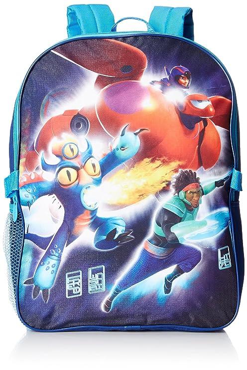 Disney Big Hero 6 - Mochila con Kit de Almuerzo Desmontable,, Talla única