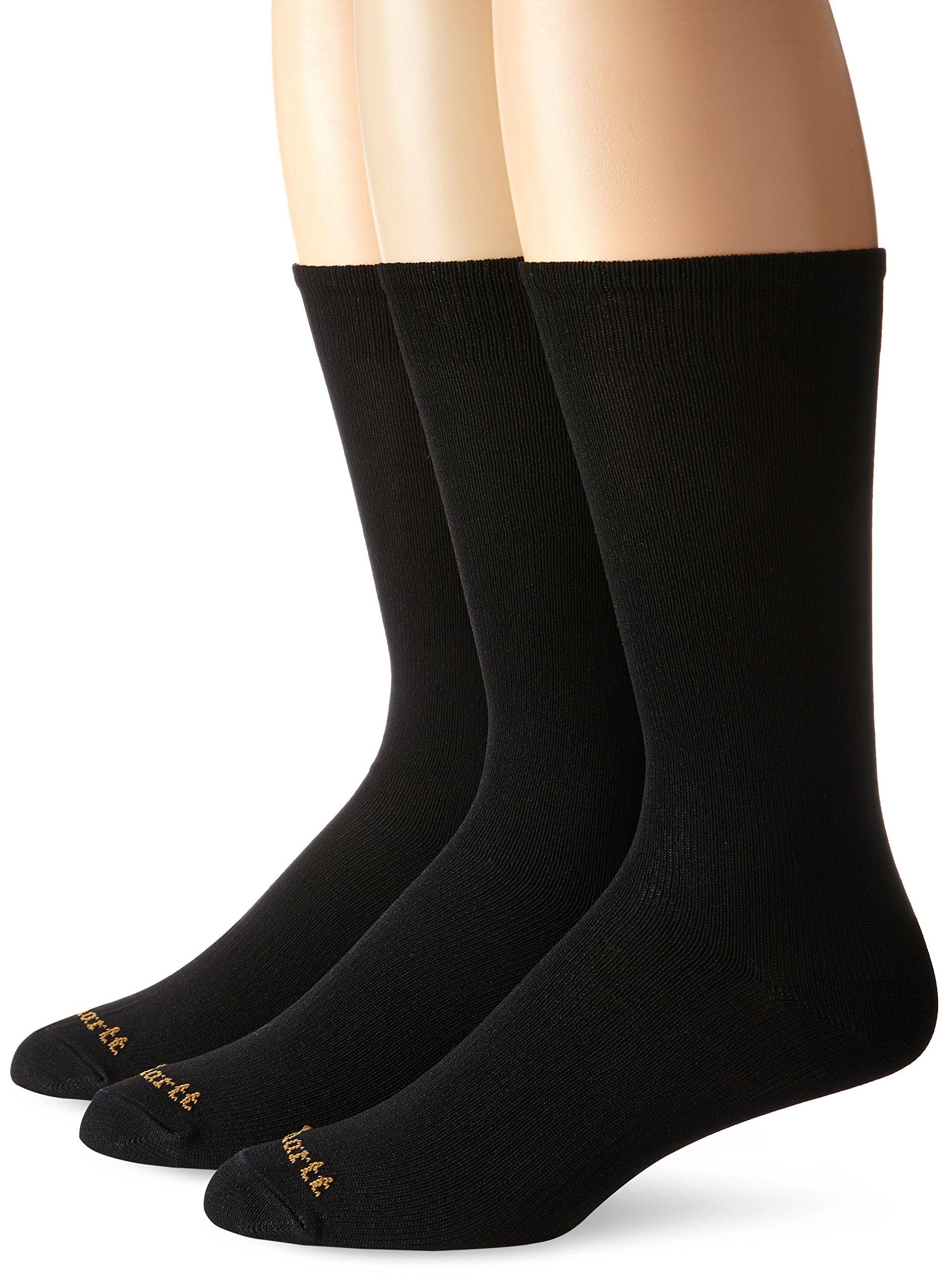 Carhartt Men's 3 Pack Liner Socks,  Black, Sock Size:10-13/Shoe Size: 6-12