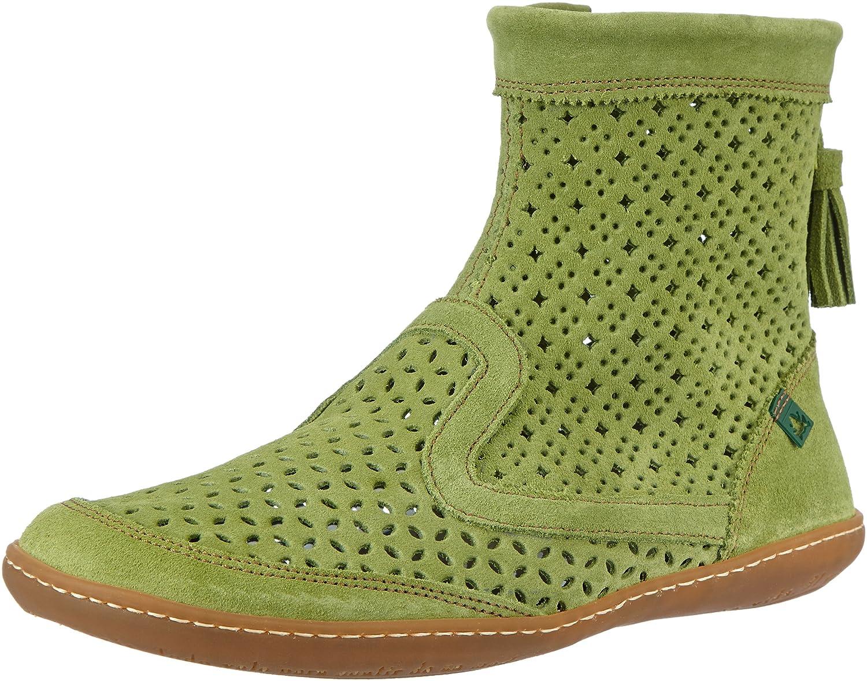 El Naturalista N262 Lux Suede Green/El Viajero - Botas Mujer39 EU|Verde (Green)