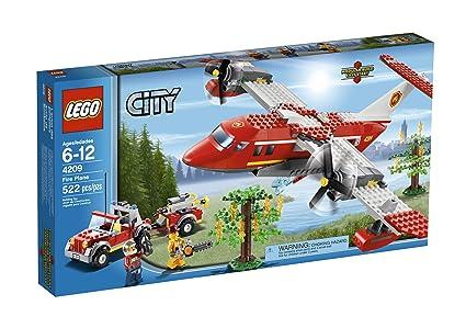 Amazon.com: LEGO City Fire Plane 4209: Toys & Games
