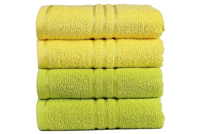 1 opinioni per Trident Everyday Set di 4 asciugamani per la mani 40cm x 60cm in cotone, qualità