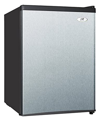 Amazon.com: SPT rf-244ss Compact nevera, inoxidable, 2,4 ...