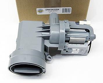 ERP W10425238 Bomba de agua para lavadora: Amazon.es: Bricolaje y ...