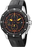Tissot Men's 'T-Navigator' Swiss Automatic Stainless Steel and Rubber Casual Watch, Color:Black (Model: T0624271705701)