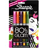 Sharpie Ultra-Fine-Point Permanent Markers, 5-Pack Limited-Edition Colored Markers (33120)