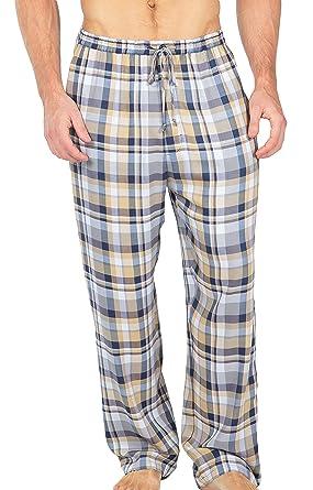 Texere Men's Woven Plaid Pajama Pants - Luxury Gift Ideas for Men ...