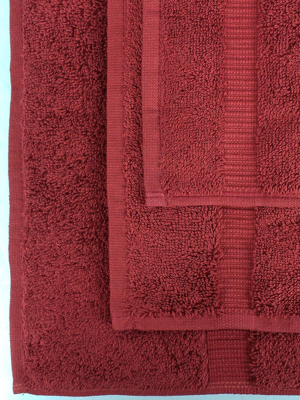Wedgewood Bathtub Mat Chakir Turkish Linens 27x37 Inches Turkish Cotton 900 GSM Luxury Hotel /& Spa Quality Eco-Friendly Banded Bath Mat