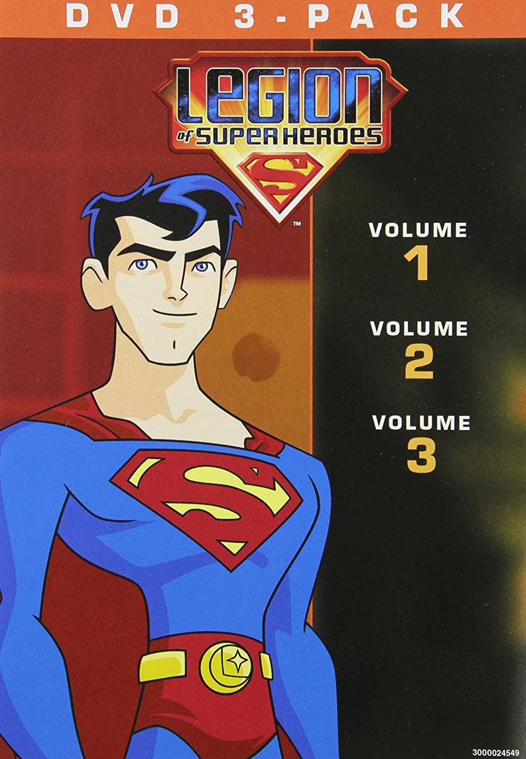 Legion of the Superheroes 1-3 [DVD] [Import]
