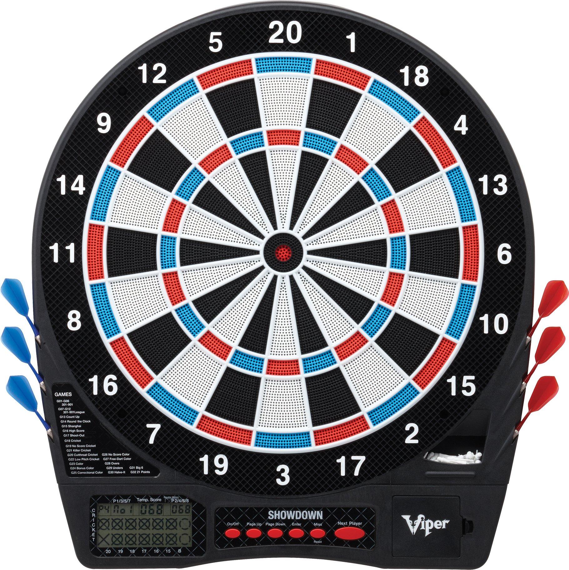 Viper Showdown Electronic Soft Tip Dartboard