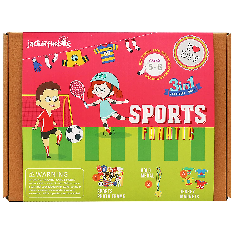 Amazon Com Jackinthebox Art And Craft Activity Kit For Kids