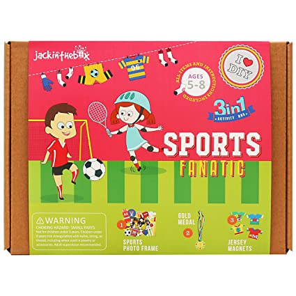 Amazon Com Jackinthebox Art And Craft Activity Kit For Kids