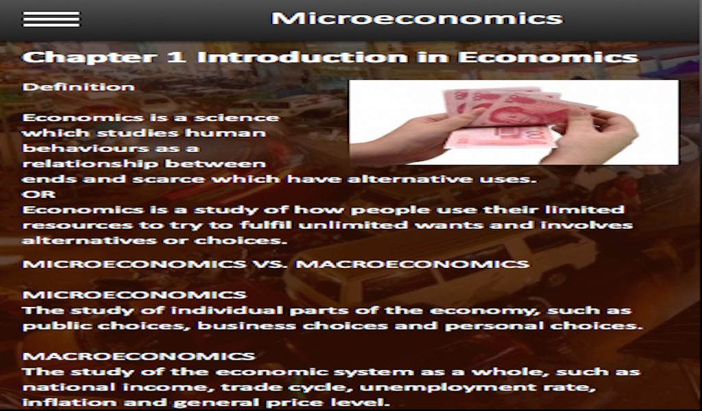 Amazon com: Microeconomics: Appstore for Android