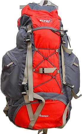 ALTUS aventura sac à dos 65 litres sac à dos sac à dos bleu *nouveau ou rouge *fabriqué en uE/espagne) Rouge Rouge 80 l: Amazon.es: Deportes y aire libre