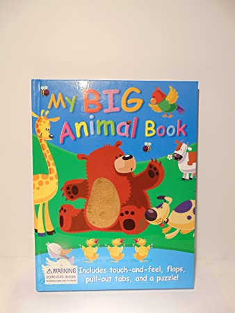 Amazon My Big Animal Book Childs Board Book By Back Pack Book