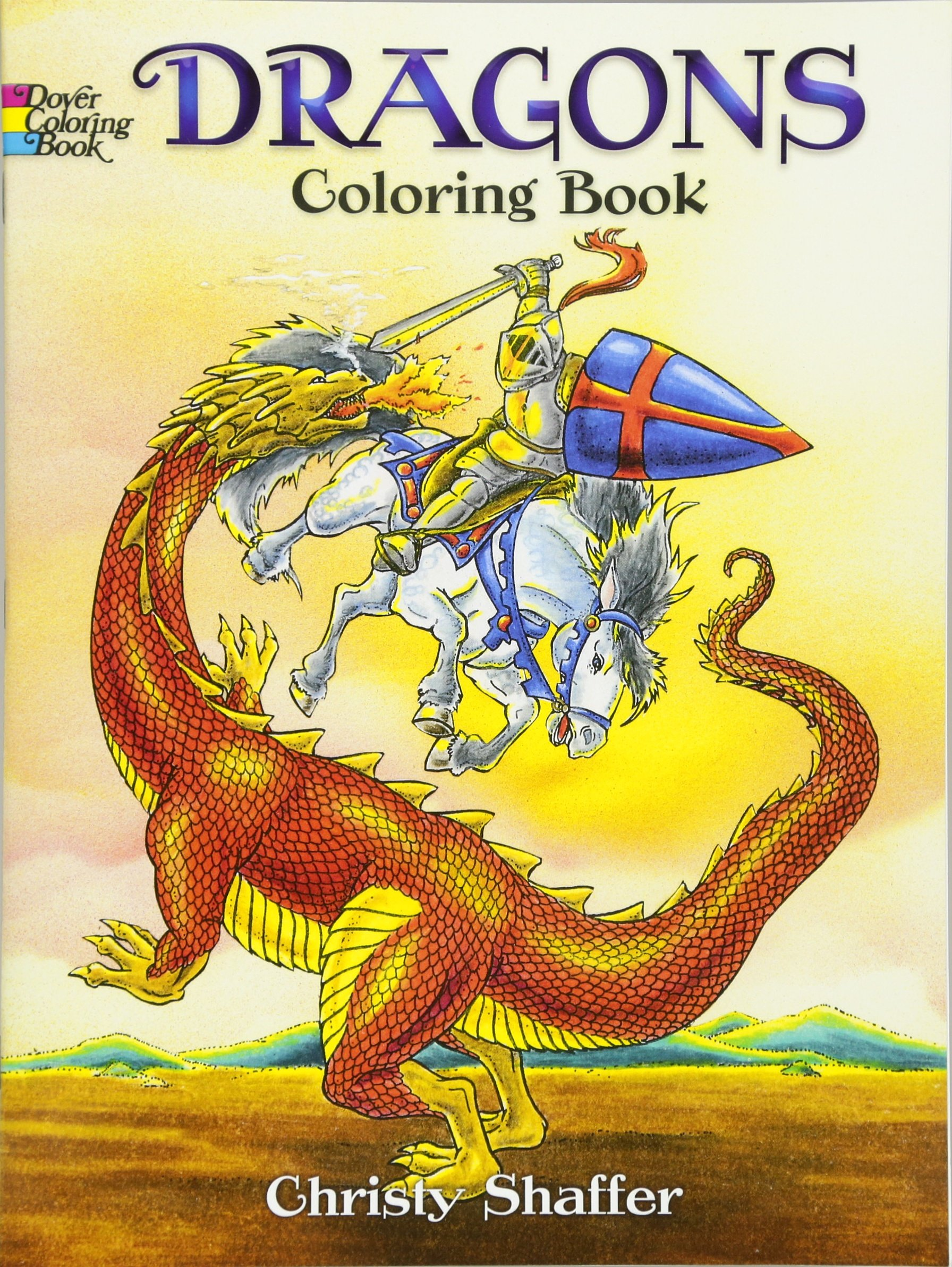 Dragons Coloring Book Dover Coloring Books Christy Shaffer 0800759420575 Amazon Com Books