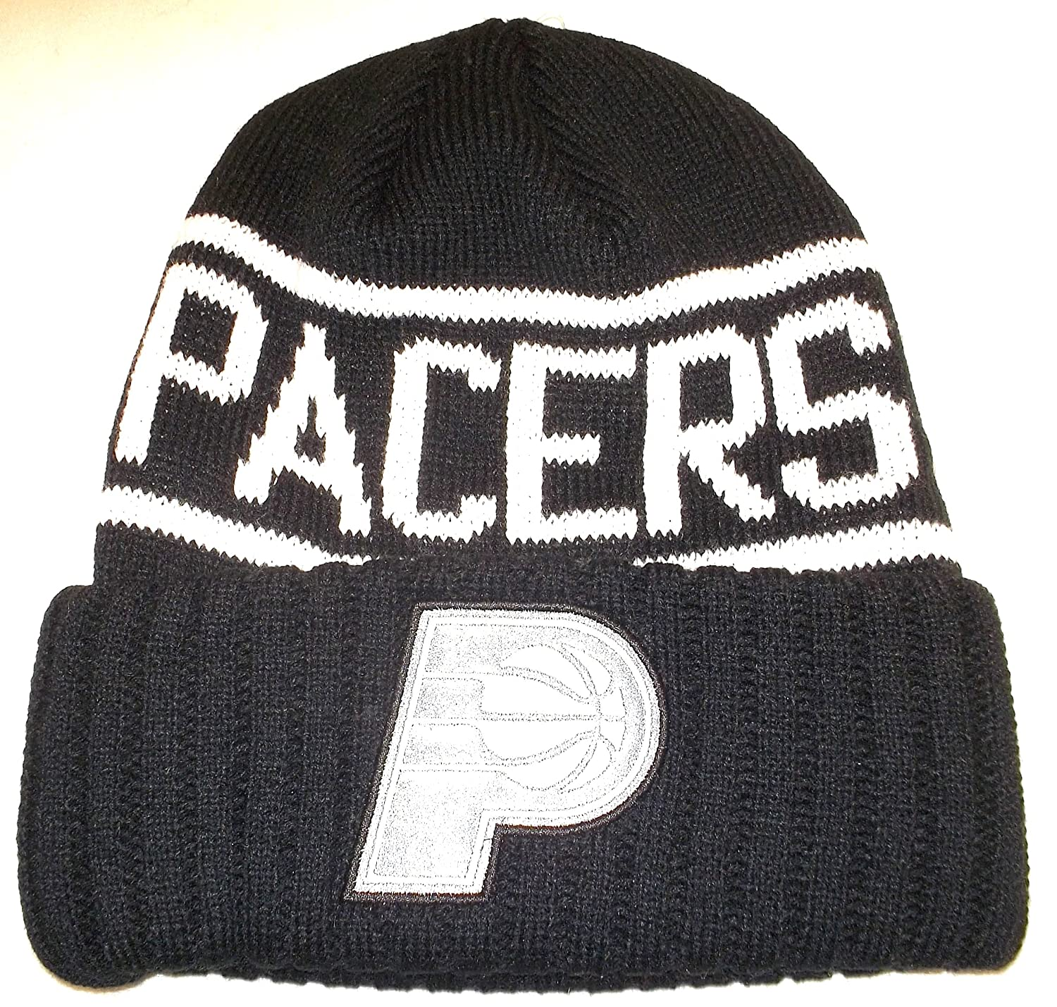 huge discount c7d89 01903 ... promo code for amazon indiana pacers cuffed mitchell ness knit hat osfa  kt58z sports outdoors 1a8b4