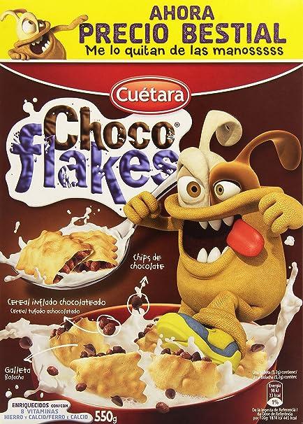 Cuetara Choco Flakes - 550 g: Amazon.es: Alimentación y bebidas