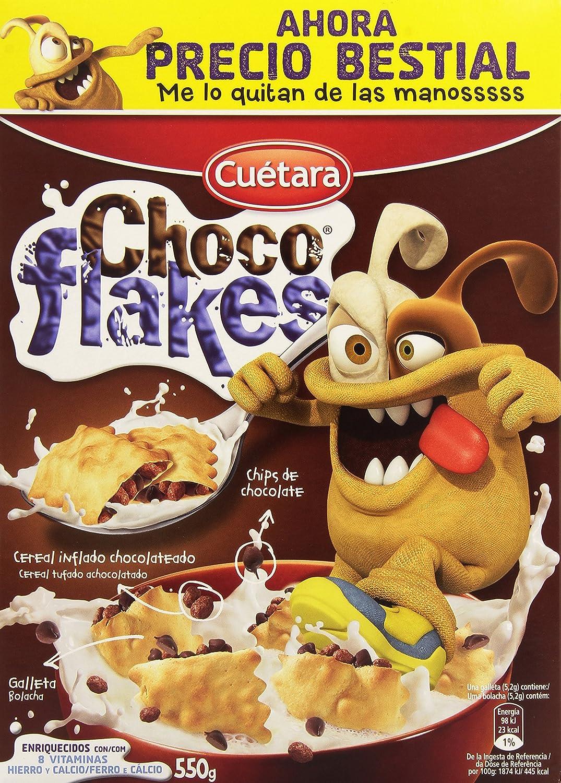 cereales choco flakes cuetara