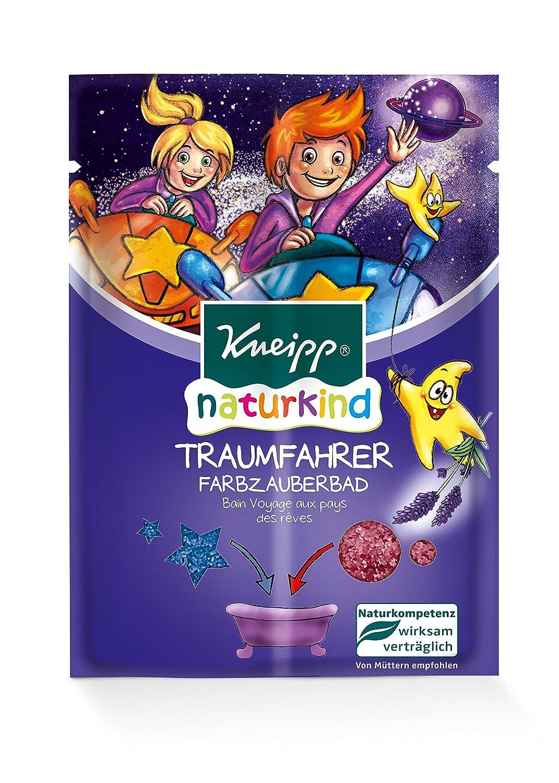 Kneipp Naturkind Badesalz Traumreise Bad, 6er Pack (6 x 40 g) 84095