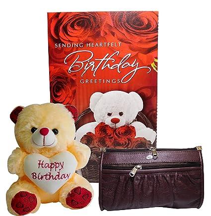 Buy Birthday Gifts For Girlfriend Greeting Card Cute Teddy