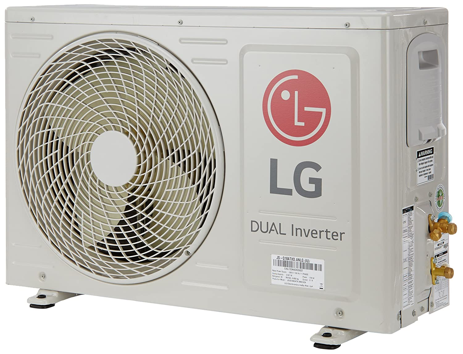 Lg 15 Ton 3 Star Dual Inverter Split Ac Js Q18atxd White Amazon Wiring Electric Fans Home Kitchen