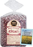 Amish Country Popcorn -Red Popcorn - 6 lb Bag with Recipe Guide