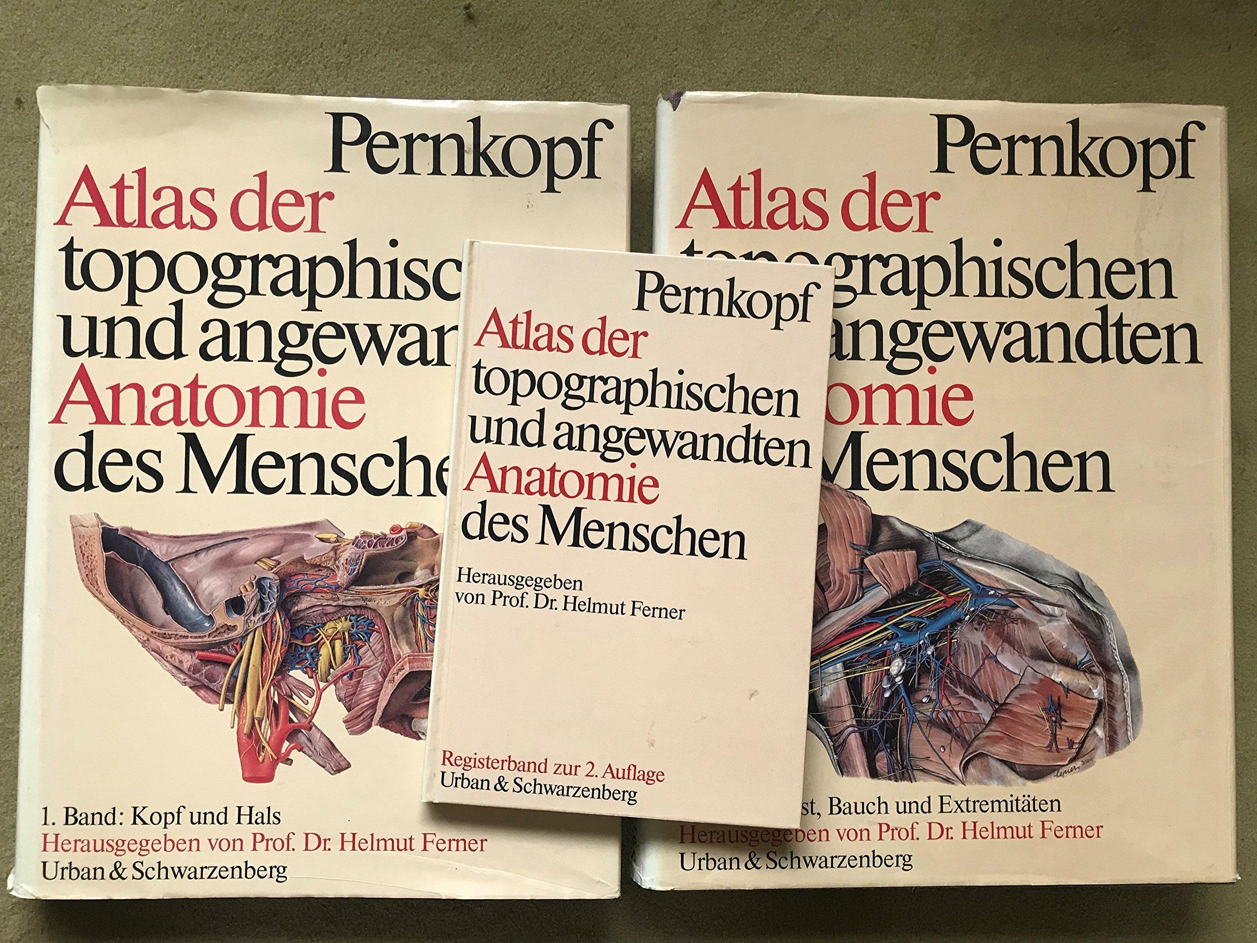 Atlas der topographischen und angewandten Anatomie des Menschen. Tl ...