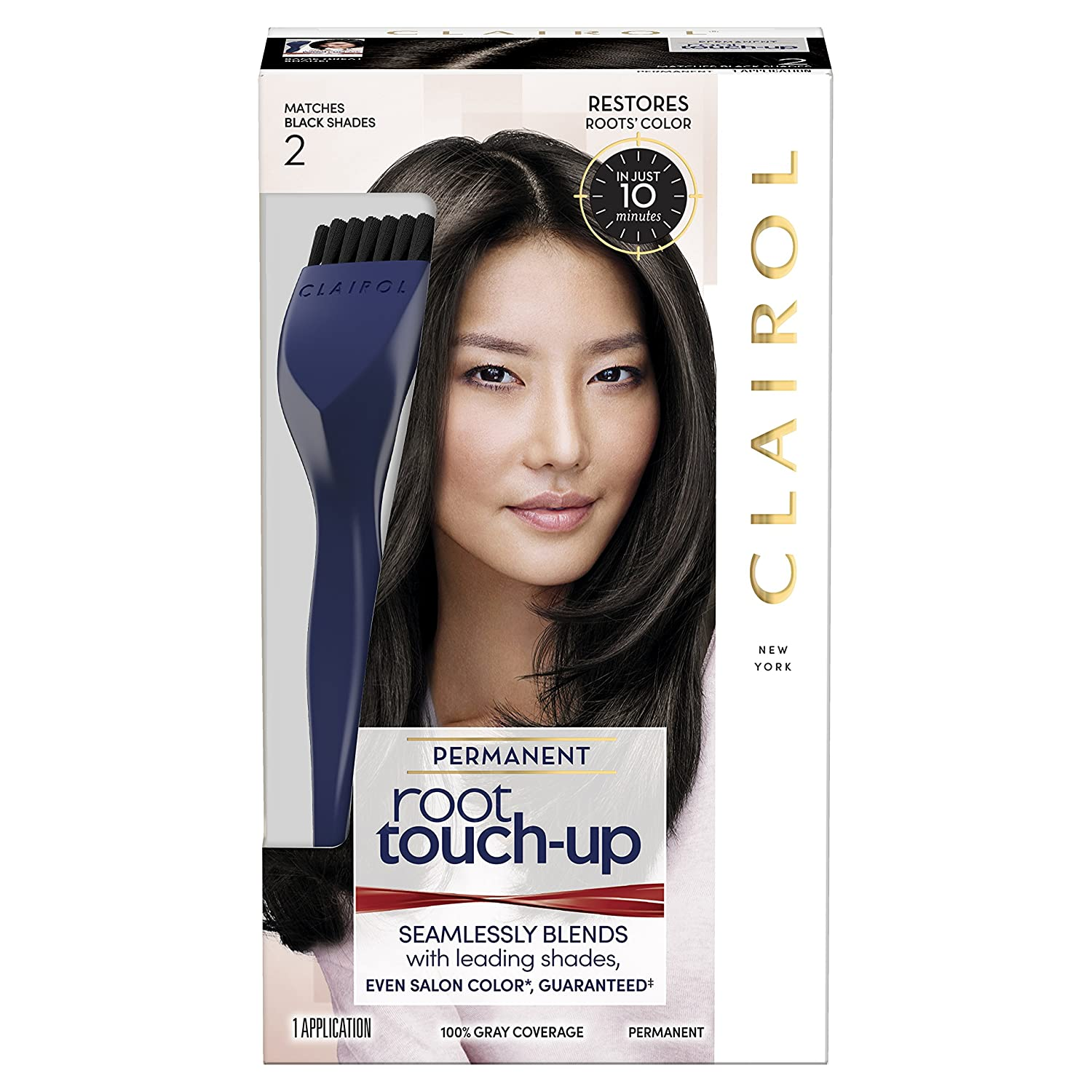 Clairol Nice 'n Easy Root Touch-Up 3 Black HFC PRESTIGE INC