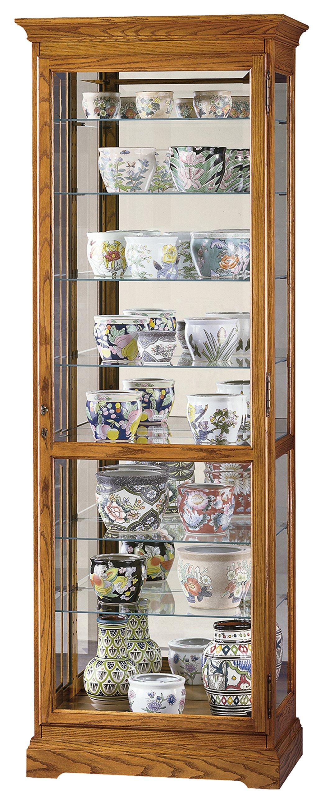 Howard Miller 680-288 Chesterfield II Curio Cabinet by Howard Miller