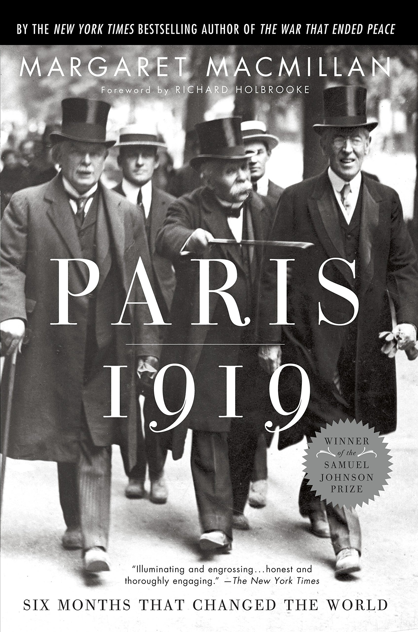 Paris 1919: Six Months That Changed the World: Margaret MacMillan, Richard  Holbrooke: 9780375760525: Books - Amazon.ca
