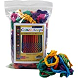 "Harrisville Designs Traditional 7"" Cotton Loops, Multi-color Pack - Makes 2 Potholders"
