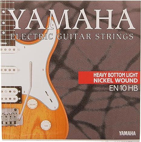 Yamaha EN10HB - Juego de cuerdas para guitarra eléctrica: Amazon ...