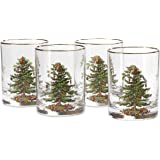 Spode Christmas Tree Glass Double Old Fashioneds Set(s) Of 4